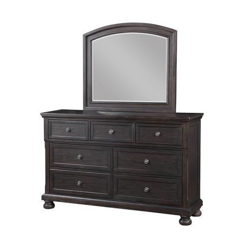 Avalon Furniture - AVALON B02255-D-M-5H-5SF-56SR Astoria 3-Piece Bedroom Group - Queen Bed, Dresser & Mirror