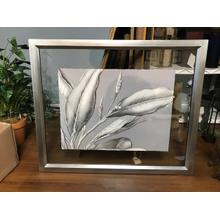 Leaf Pattern Glass Picture
