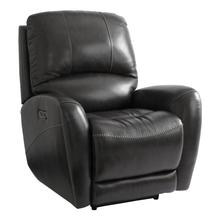 Club Level Leather Power Recliner w/ Power Tilt Headrest