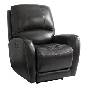 Club Level Leather Power Recliner w/ Power Tilt Headrest Product Image