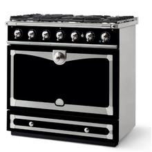 Cornufe 110 - Gloss Black with brass finish