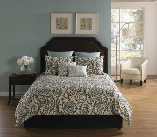 Magdalena Comforter Cover w/Filler Set King 6pc/9pc & Queen 6pc/9pc