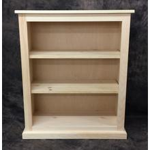 See Details - Maine Made 30X36 Bookcase 30W X 36H X 13D Pine Unfinished