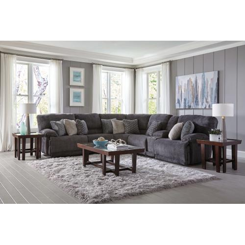 Burbank Smoke Power Reclining Sectional