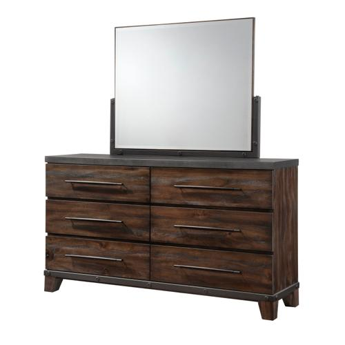 AUSTIN GROUP 578-10 578-01 Valley Forge Dresser & Mirror