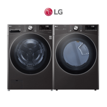 LG 5.0 cu. ft. Mega Capacity Smart wi-fi Enabled Front Load Washer   Ultra Large Capacity Dryer