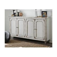Mirimyn Large Antique White Cabinet