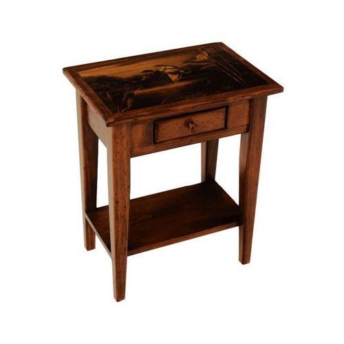 2 Drawer Lamp Table