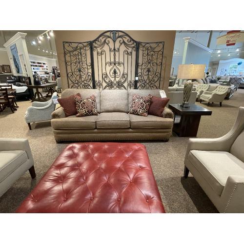 Mayo Furniture - 362F10 BROMANCE AUBURN SOFA