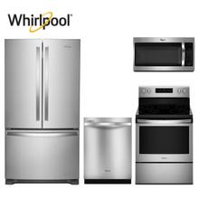 Whirlpool Deluxe 4pc Stainless Kitchen Package