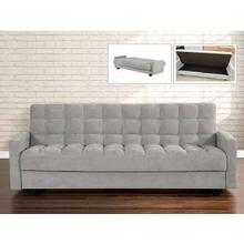 See Details - Briley Futon in gray