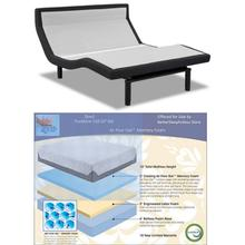Leggett & Platt Prodigy PT Adjustable Bed w/ Choice of Boyd Cool Gel Memory Foam Mattress