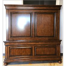 View Product - Stanley Panel Queen Bed - Honey