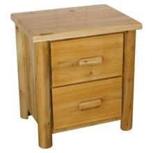 See Details - W136  2-Drawer Nightstand