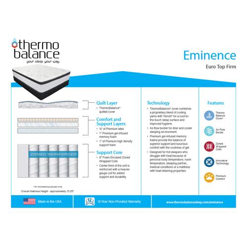 Thermo Balance By Southerland - Eminence - Firm - Euro Top