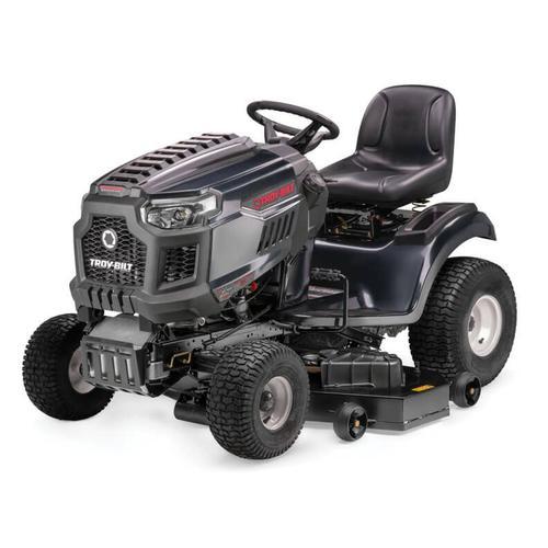 Troybilt13aja1bz066 By Troy Bilt At Schewels Home Va Troy Bilt 13aja1bz066 Lawn Tractor Super Bronco Xp 50 Riding Mower