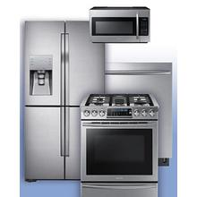 SAMSUNG - Get a Visa Reward Card for 10% off the purchase price of any Samsung 4-piece kitchen package. See 4-Door Flex Refrigerator Gas Range Example.