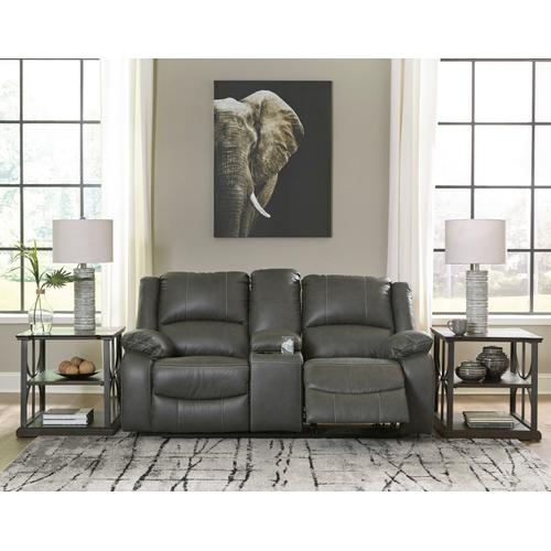 Ashley Furniture - Calderwell Power Reclining Sofa and Console Loveseat