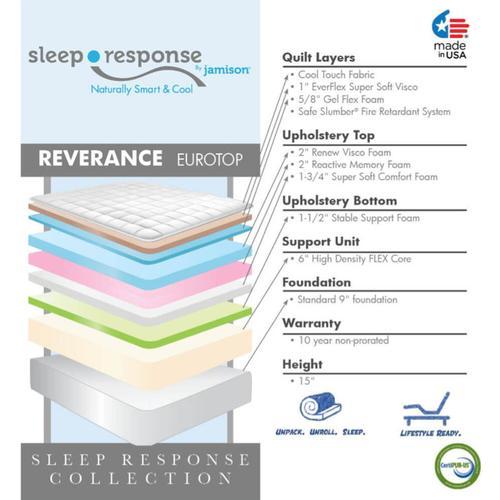 Sleep Response Collection - Reverance - Euro Top