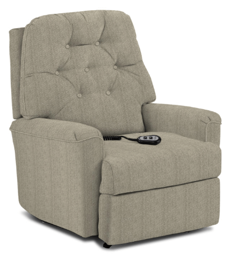 CARA Petite Power LIFT CHAIR Recliner in Silver      (1AW41-20039,39941)
