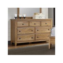 Light Oak Loft Dresser