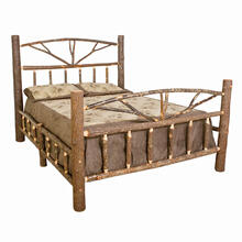 H452 King Log Bed