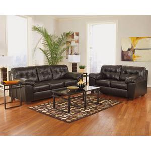 Alliston- Chocolate Sofa and Loveseat