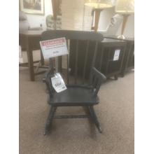 See Details - Children's Rocking Chair - Aged Celeste Navy finish- In Stock only Model# CR-2465B