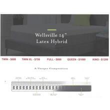 """Malouf Wellsville 14"""" Latex Hybrid Mattress"""