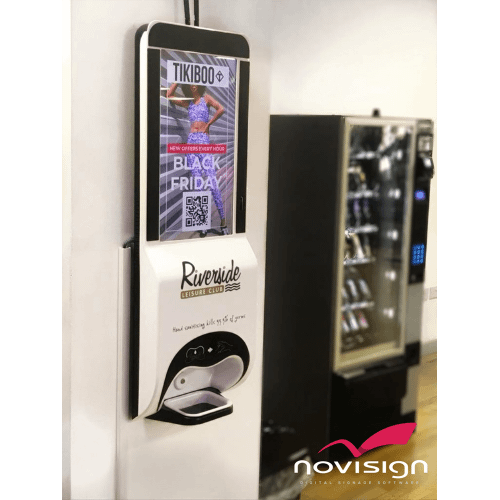 NoviTizer | Hand Sanitizing Digital Signage Kiosk