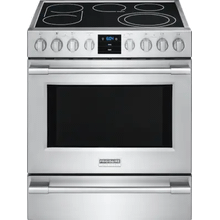 See Details - Frigidaire Professional 30'' Electric Front Control Freestanding