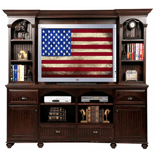 """Poplar 36"""" Entertainment Console with 2 Doors"""