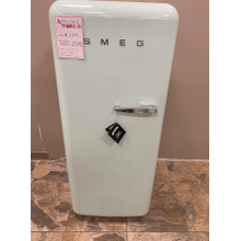 """Approx 24"""" 50'S Style Refrigerator with ice compartment, Pastel green, Left hand hinge"""