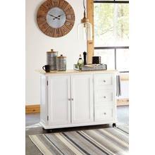 See Details - Withurst Kitchen Cart