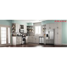 Amana 4-piece Stainless Steel Appliance Package With Gas Range