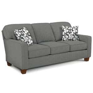 Best Home Furnishings - ANNABEL Stationary Sofa in Ash/Indigo       (S82Dw-20653/27252,29030)