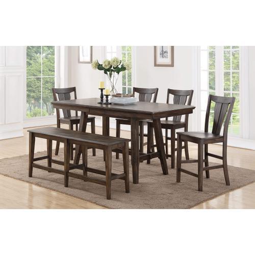 Solid Birch & Hardwood Dining Table