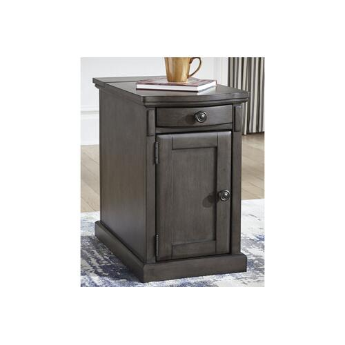 Gallery - Laflorn Chairside Table/Cabinet
