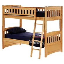 Cinnamon Natural Bunk Bed - T/T