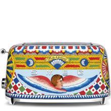 Smeg 50s Retro Style Design Aesthethic 4 Slice Toaster, Dolce & Gabbana