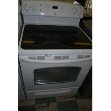 "30"" Electric Range with 4 Radiant Elements,"
