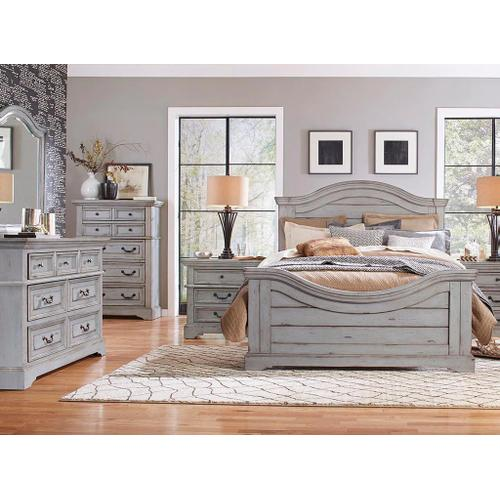 American Woodcrafters - Queen Bed, Dresser, Mirror, Chest and Nigthstand