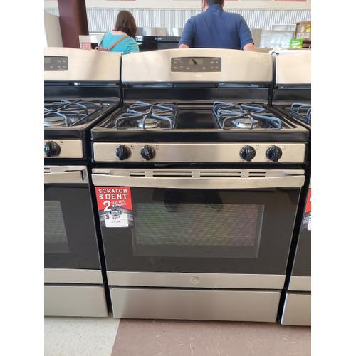 """GE Appliances - GE® 30"""" Free-Standing Gas Range"""