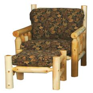 Best Craft Furniture - W4108 Log Ottoman