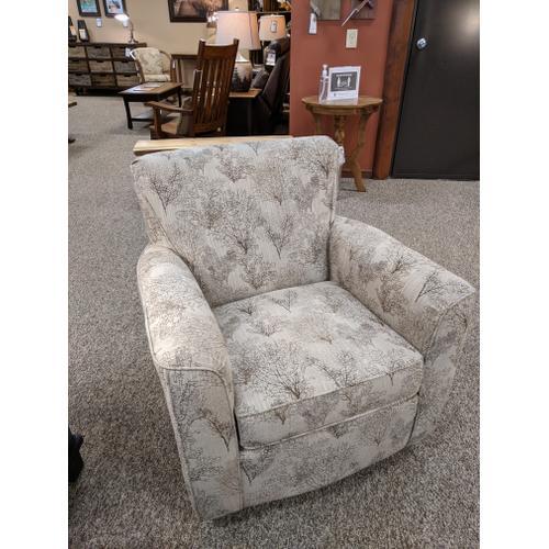 Best Craft Furniture - Swivel Rocker Chair (Pick Your Fabric!)