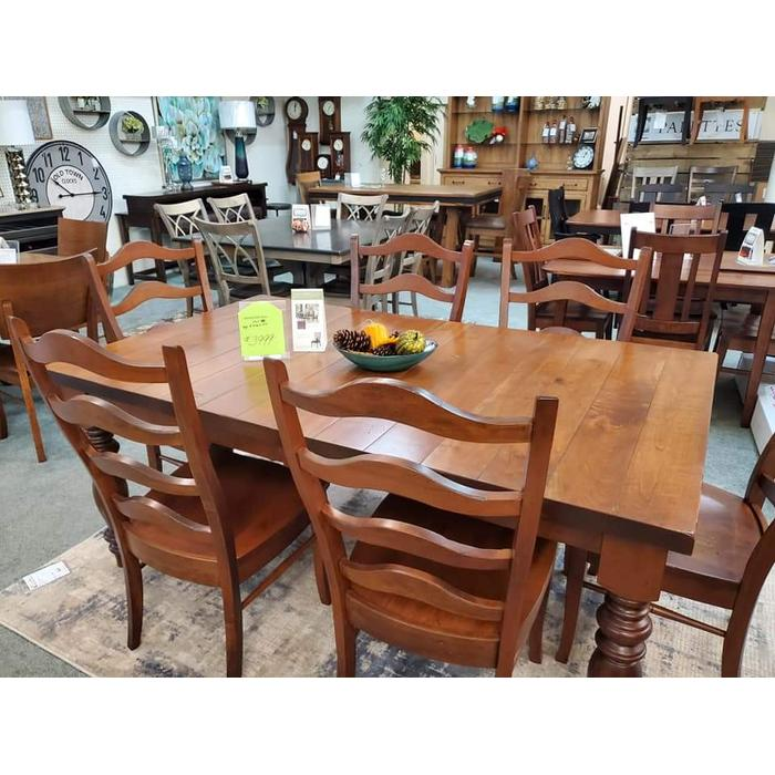 Palettes By Winesburg - Palettes by Winesburg Table and 6 Chairs