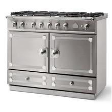 Stainless Steel Cornufe 110 with Polished Chrome Accents