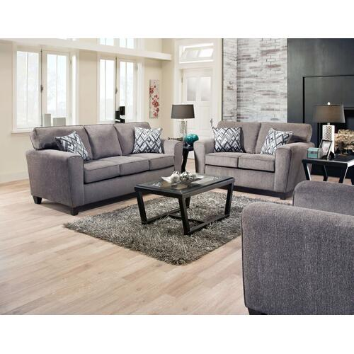 Cornell Pewter Sofa