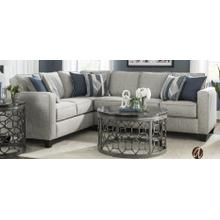 2 Piece Sectional with Full Innerspring Sleeper