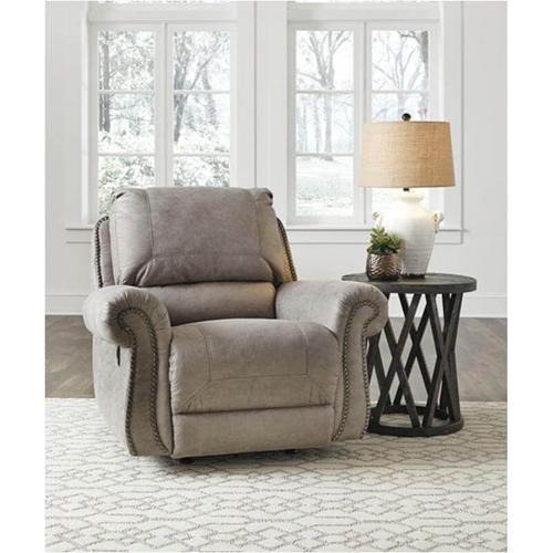 Ashley Furniture - ASHLEY 4870125R Olsberg Steel Recliner